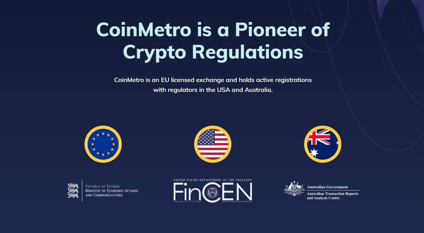 CoinMetro and regulation