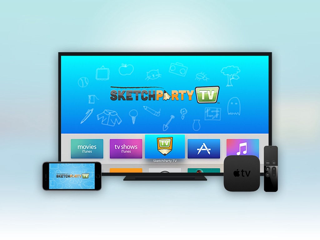 SketchParty TV for the new Apple TV: The Story so Far