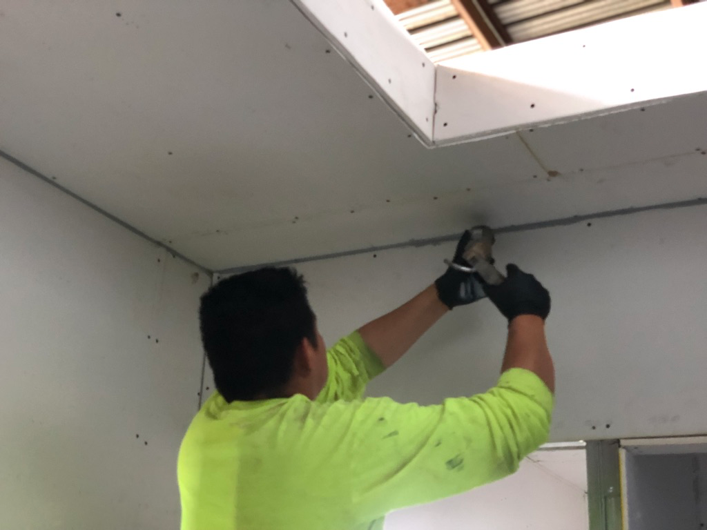 How to Prevent Cracking Sheetrock in Shipping Container