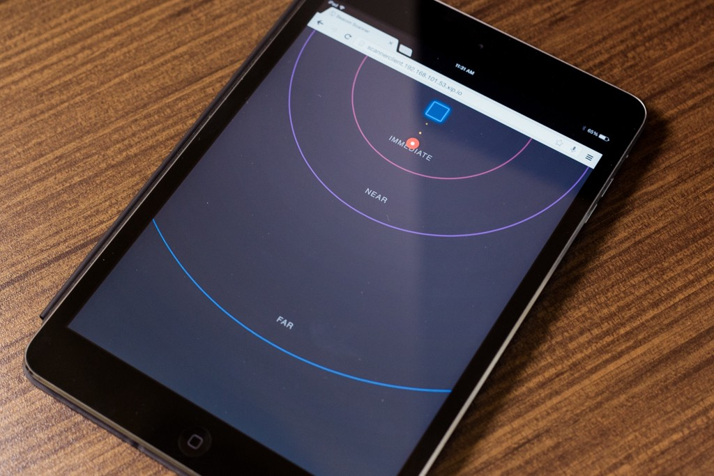 Beacon tracking with Node js and Raspberry Pi - Perficient