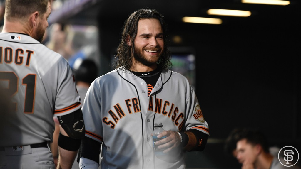brand new 3937e a208d Dickerson Lit the Match. We Ignited. — Brandon Crawford
