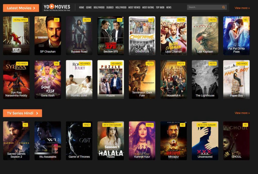 Yomovies 2020 — Watch Free HD Bollywood and Hindi Dubbed Movies Online  by Developer83351  Jul