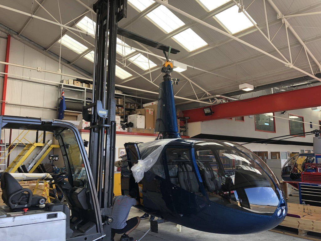 Our new Robinson R66, after 50 hours - Flying with Helipaddy