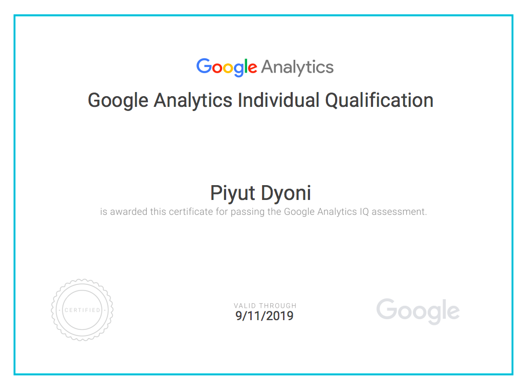 How I Got Certified in Google Analytics Individual