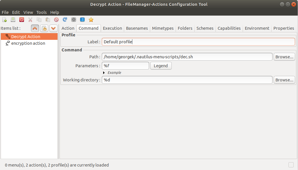 Encrypt and Decrypt Files and Folders on the fly on Ubuntu