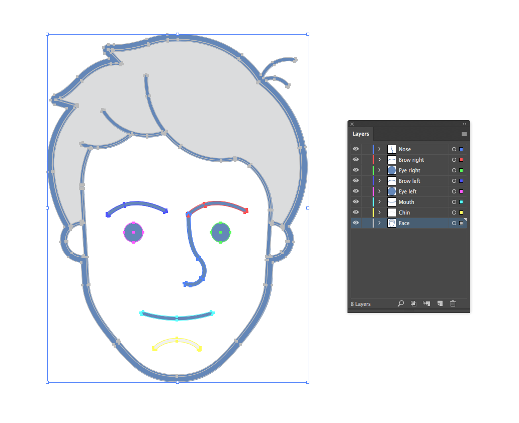 What I Learned From Making Svg Animations With After Effects And Bodymovin Of All My Colleagues By El Nino Codeburst
