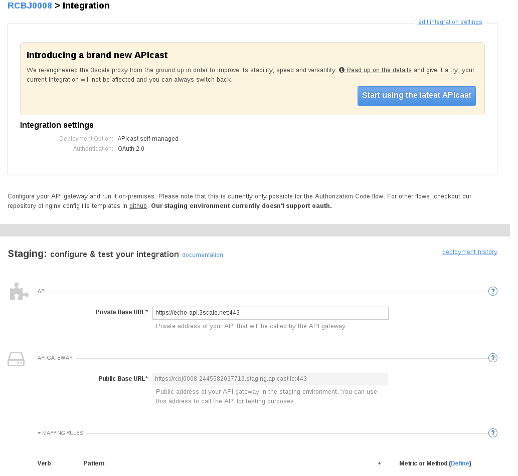 OAuth2 Configuration in 3Scale API Management (and APICast