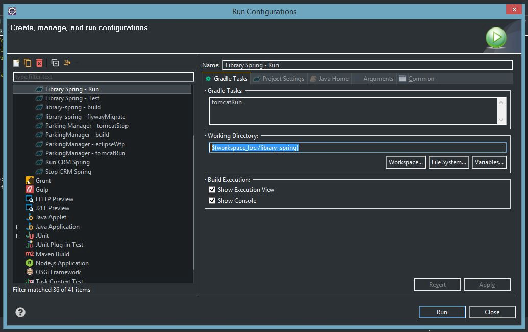 Setting up Gradle web project in Eclipse (on Tomcat Server)
