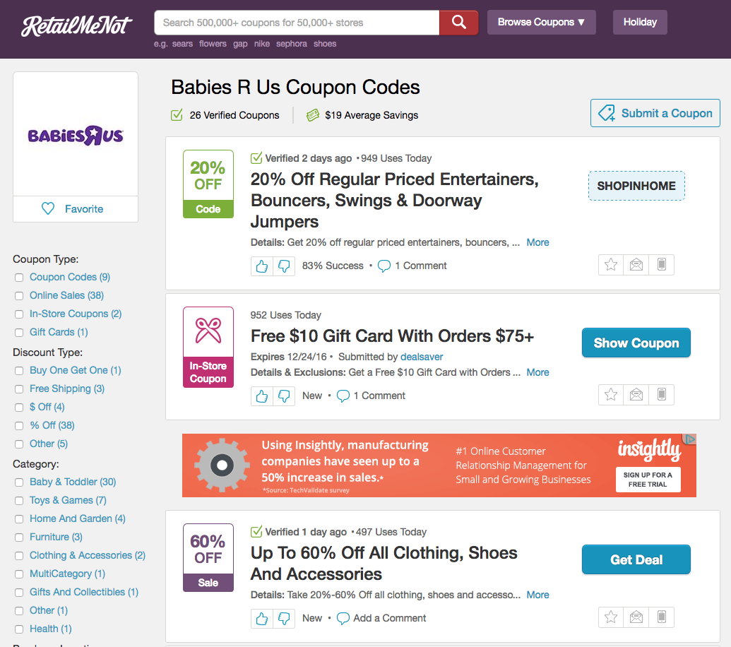 How thin affiliate sites like PromoCodeWatch are outranking