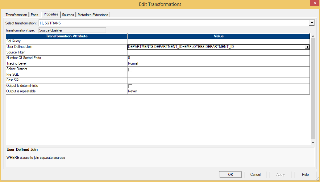 Joining and Merging sources in Informatica PowerCenter