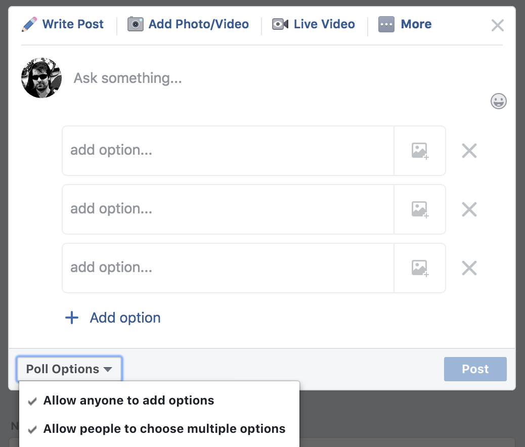 Bad Ux Bites 3 Facebook S Crappy Poll Design By Jason Clauss Heretic Futurist Ux Planet