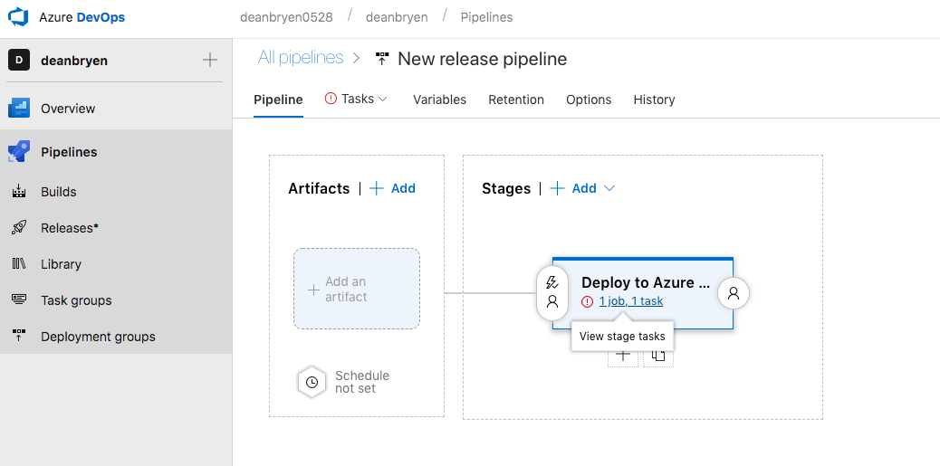 Azure Pipelines — Adding CI/CD from GitHub to Azure Functions ⚡