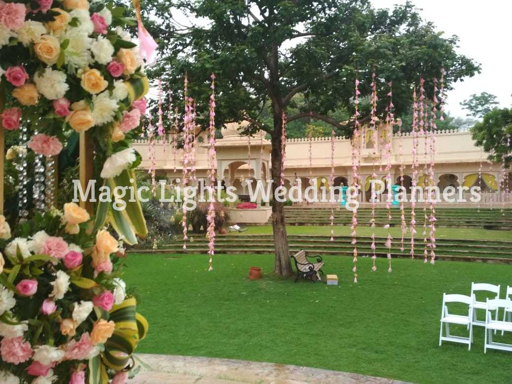 Wedding decoration by Magic Lights Wedding Planners