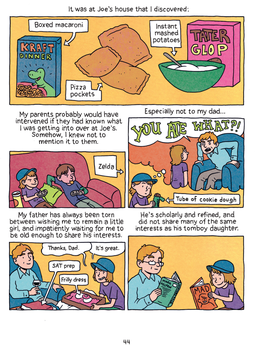 Relish My Life In The Kitchen Graphic Novels Medium