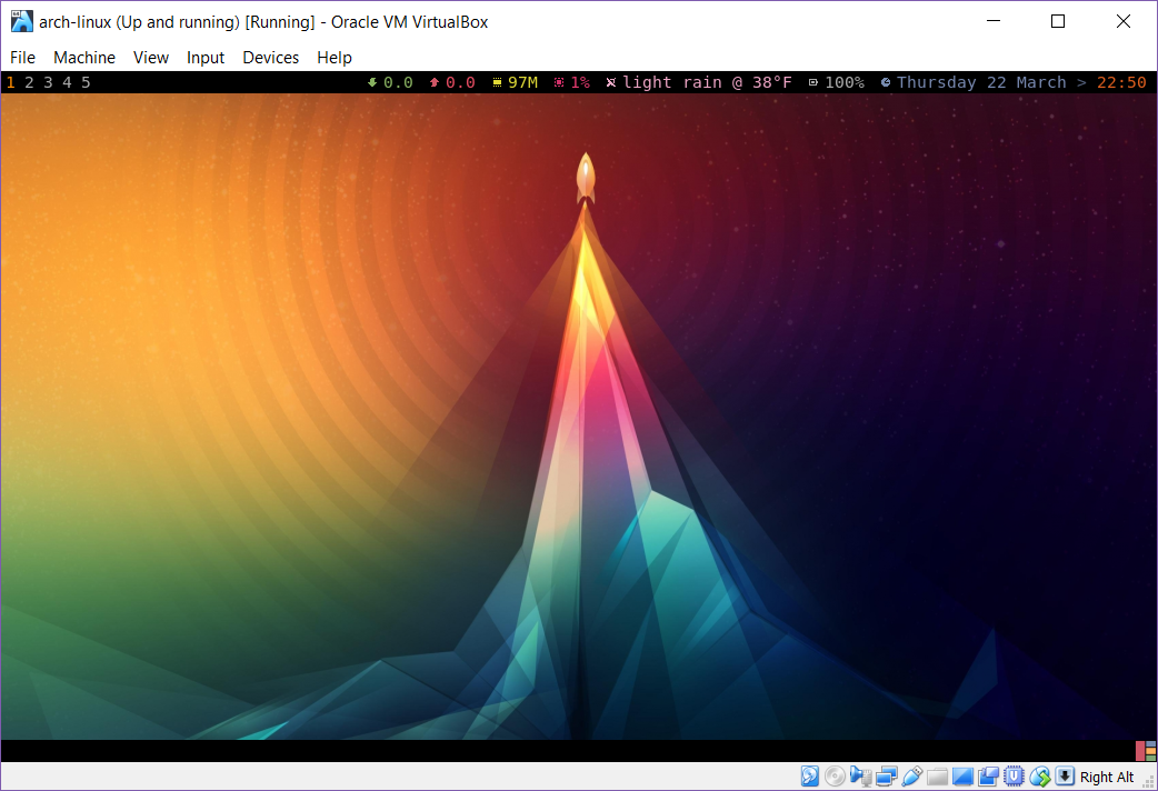 Psychedelic Awesome WM on Arch Linux - Logan Hennessy - Medium
