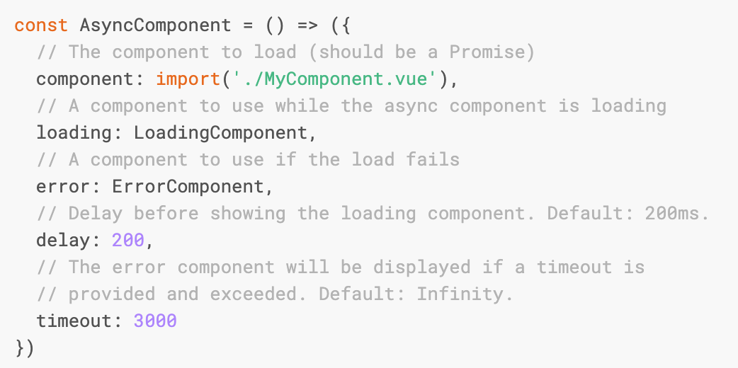 Vue js async components - Hackages Blog