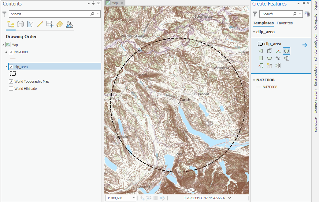 How to create a 3D web map of contour lines - Raluca Nicola