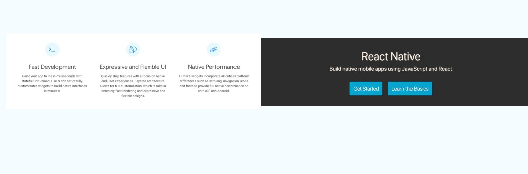 React Native vs Flutter - Bits and Pieces