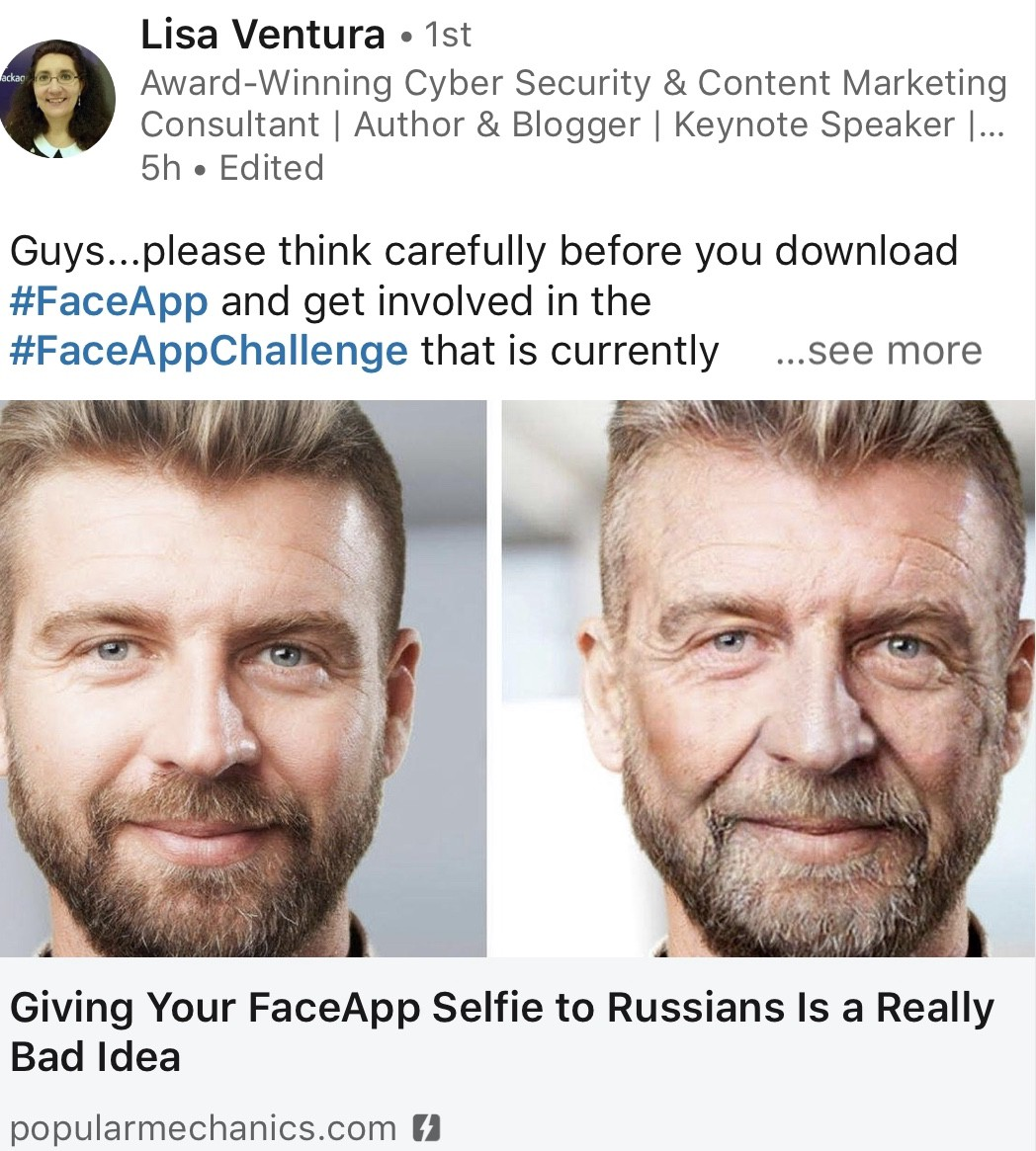 Is Faceapp Stealing Your Identity Let S Find It Out By Francesco Cipollone Medium