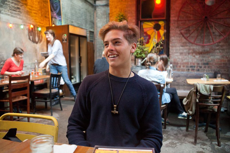 Y'all, Lay Off Dylan Sprouse's Cafe Job - NYU Local