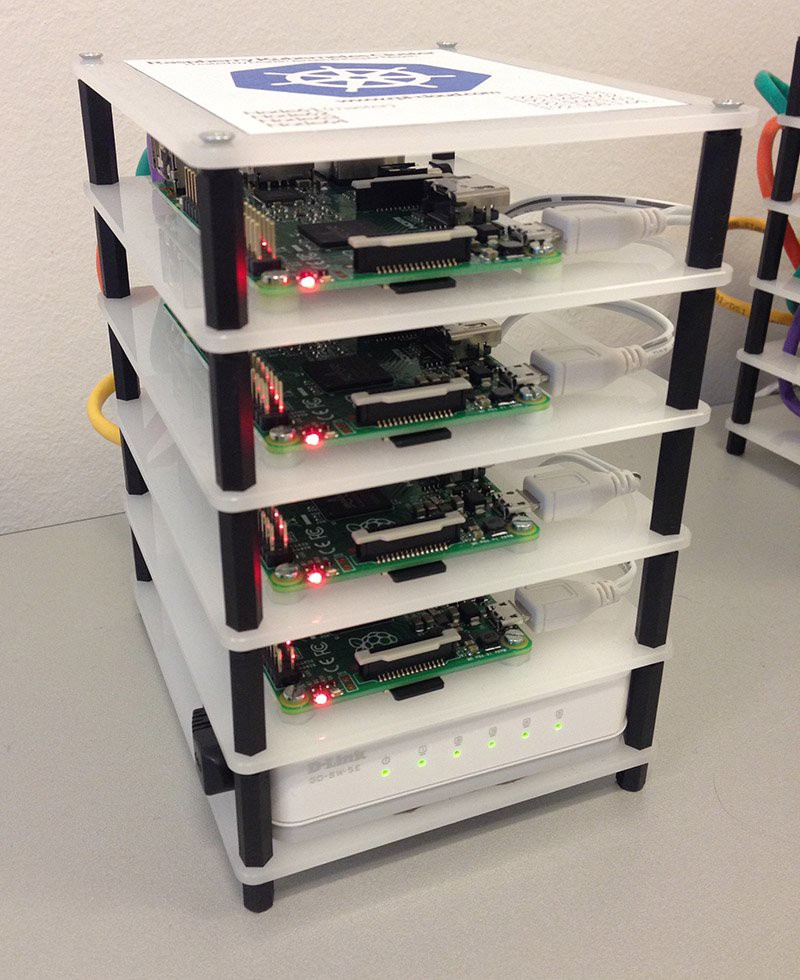 Setting up a Kubernetes on ARM cluster on Raspberry Pis