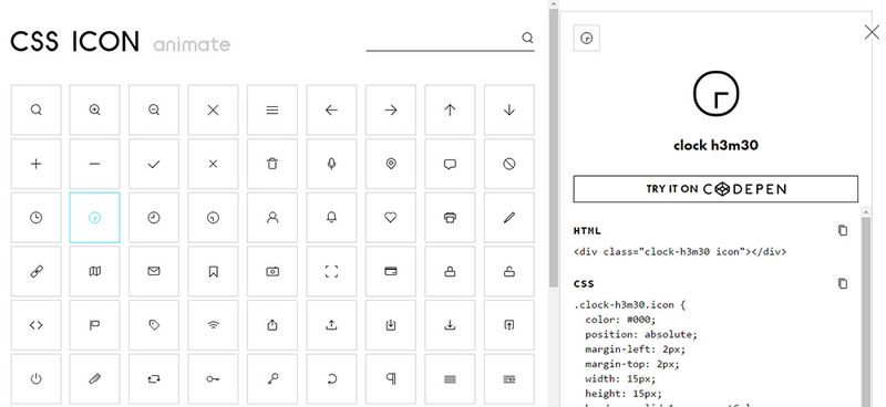 This Gallery of Pure CSS Icons is What All Frontend