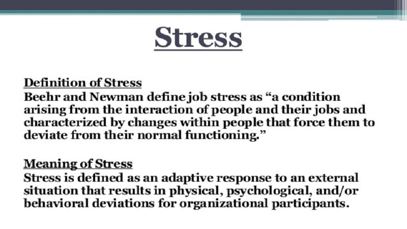 Stress definition — What is stress meaning? - Yeasin Mia