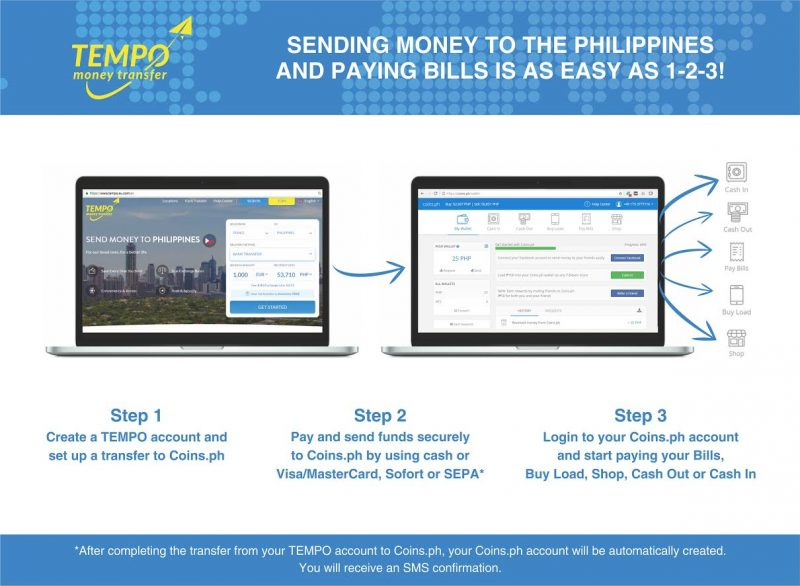 How to pay your bills in the Philippines from Europe