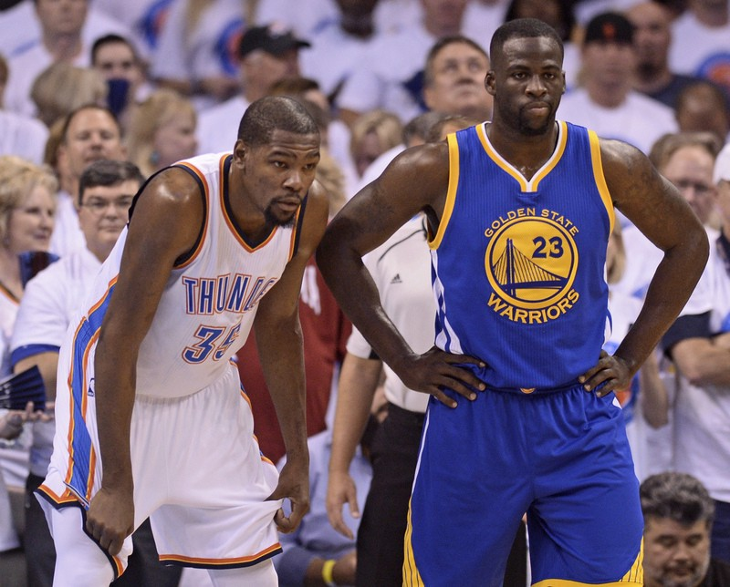 "timeless design d19f3 78dc0 Draymond Green to Kevin Durant at Warriors meeting: ""You can ..."