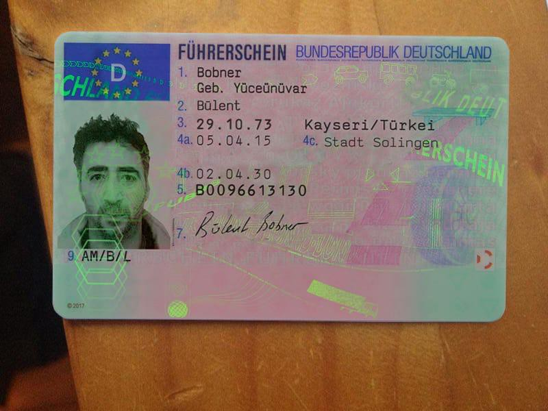 Buy Fake German Drivers License