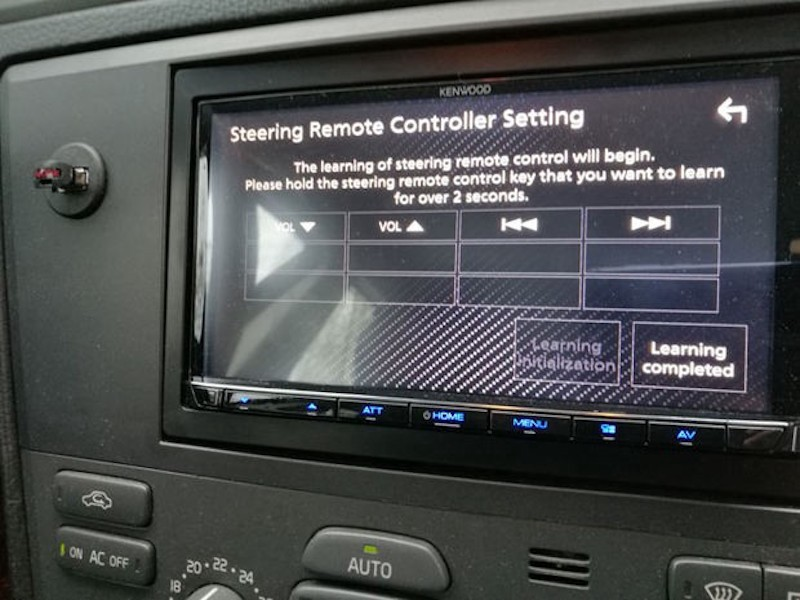 Steering Wheel Buttons Not Working with Your New Car Stereo