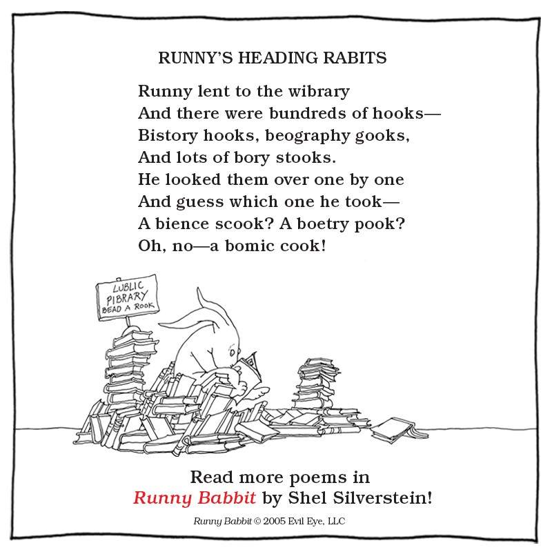 21 Short and Sweet Shel Silverstein Poems That'll Bring You