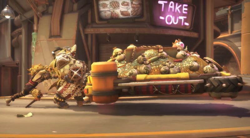 """What if Overwatch became """"Free-to-Play"""" at Net Cafes in the"""