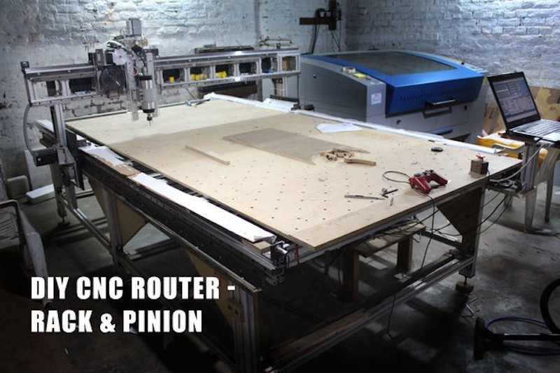 Build Your Own 5'x10' CNC Router from the Frame Up