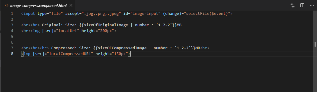 accept image png jpg compress image and send it to an api in angular - the
