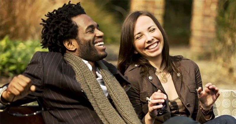 black dating man picture white woman