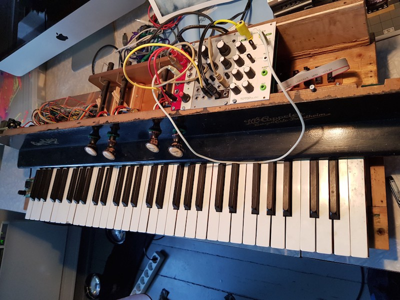 Abandoned Organ Gets a New Life as Chiptune Instrument