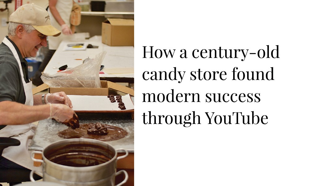 How a century old candy company found modern success through YouTube