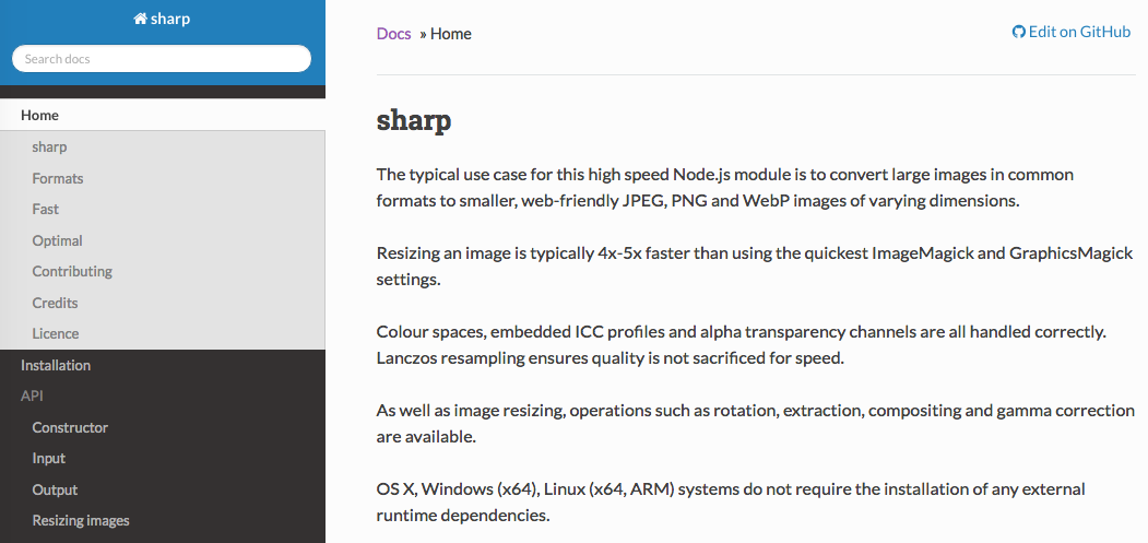 Why we switched from graphicsmagick to Sharp for node image