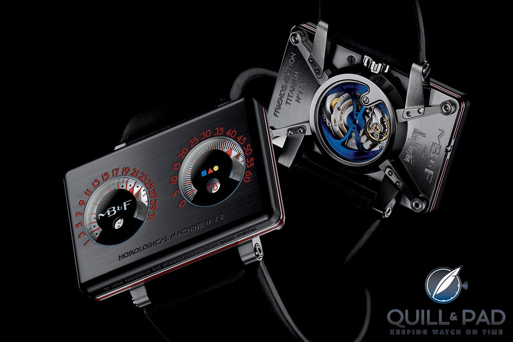 MB&F HM2.2 Black Box: Alain Silberstein's Performance Art piece in collaboration with MB&F
