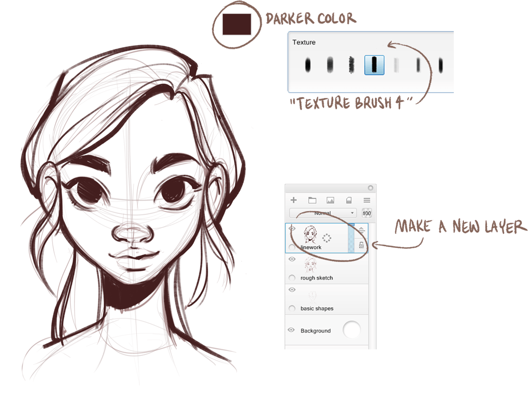 How To Draw The Female Face Beautiful Portraits Of Women Are Easy By Sketchbook Sketchbook In Perspective Medium