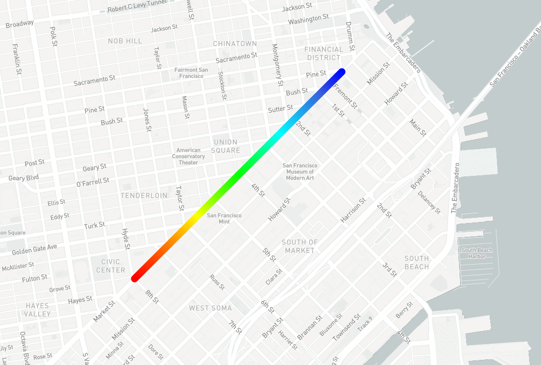 Map Pride 2018 with our new design tools - Points of interest