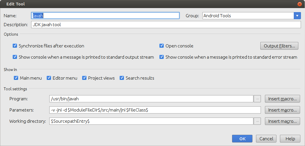 OpenCV and Android NDK integration in Android Studio