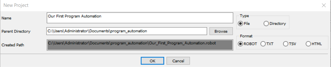 Desktop Application Automation With Robot Framework