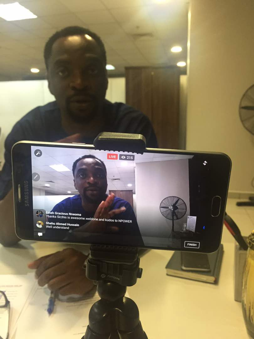 Transcribed Live Chat with Afolabi Imoukhuede — NPower FAQs