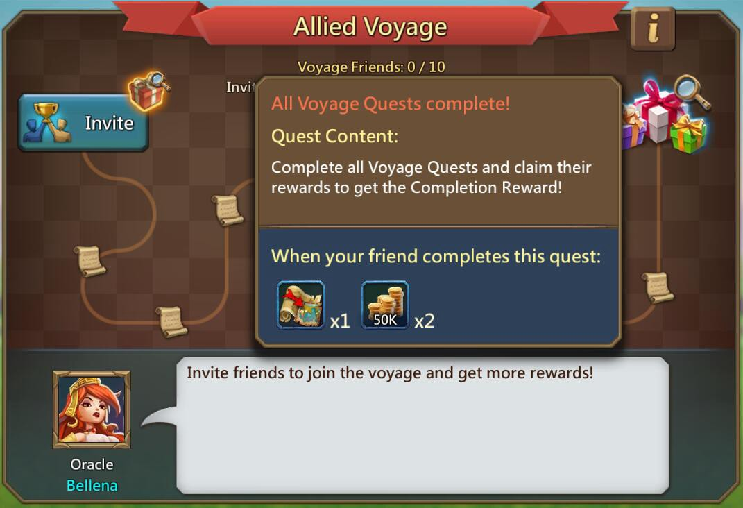 Screenshot of quest completed in game
