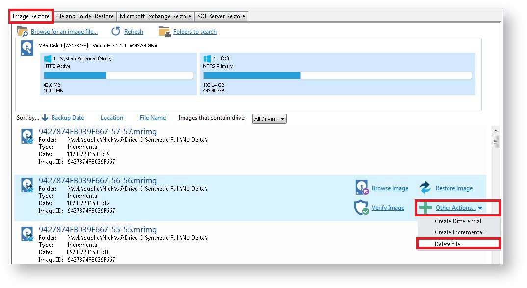 Techie Tuesday: How to delete backup files - Macrium Software