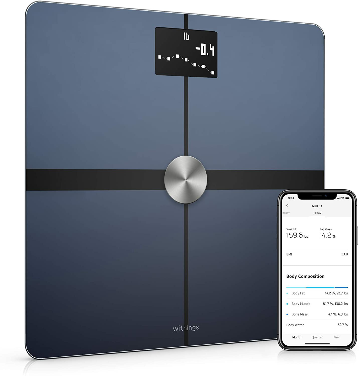 Withings' smart health scale