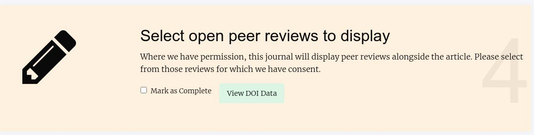 The select reviews stage of prepublication