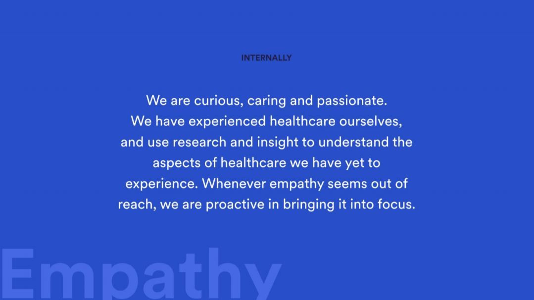What empathy means within Push Doctor.
